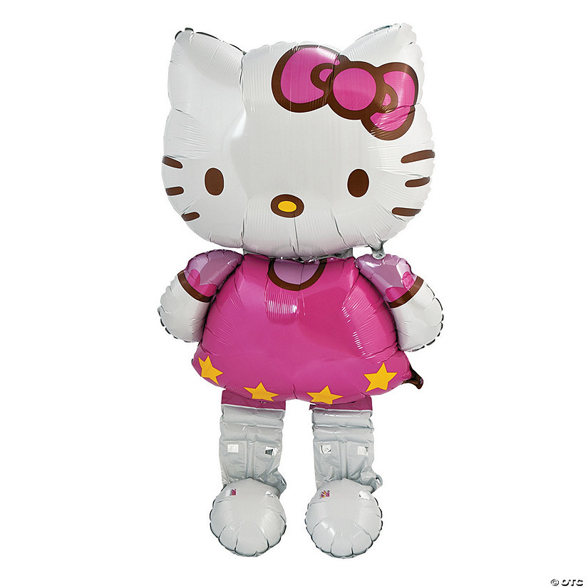 Hello Kitty® AirWalkers® Mylar Balloon Audio Thumbnail