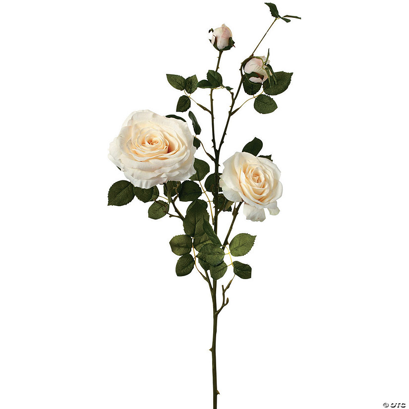 "Hermes Rose Branch X4 36""-Ivory"