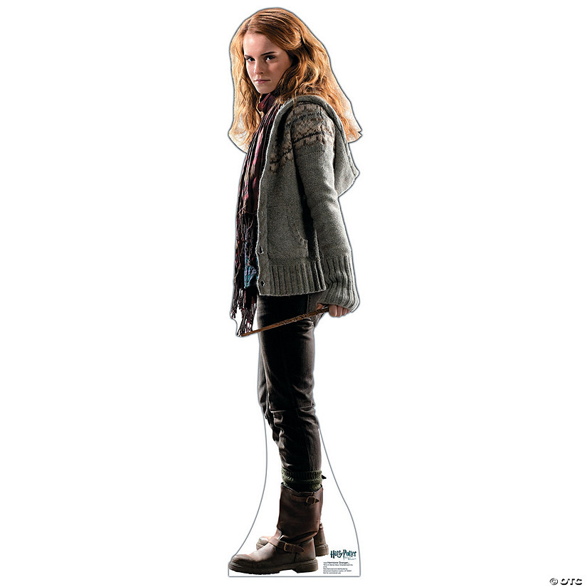 Hermione Granger - Deathly Hallows Cardboard Stand-Up