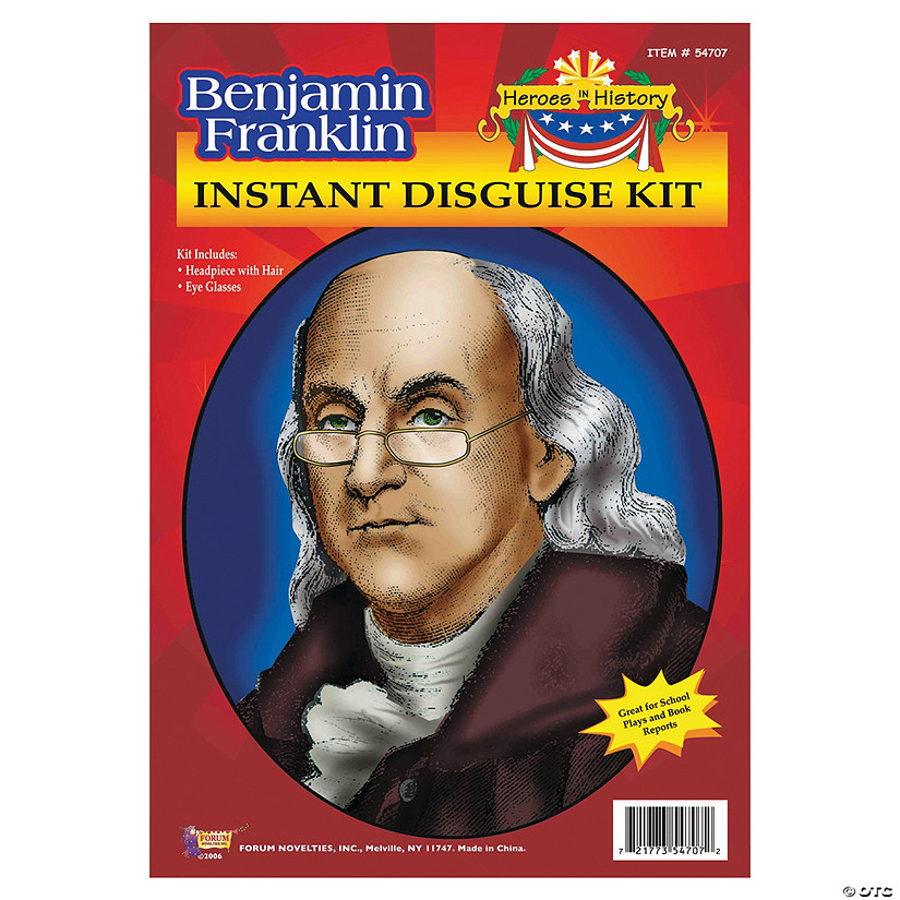 Heroes in History: Benjamin Franklin Wig & Glasses Audio Thumbnail
