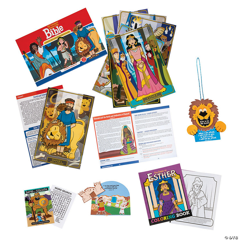 Heroes of the Bible At-Home Learning Kit Image Thumbnail