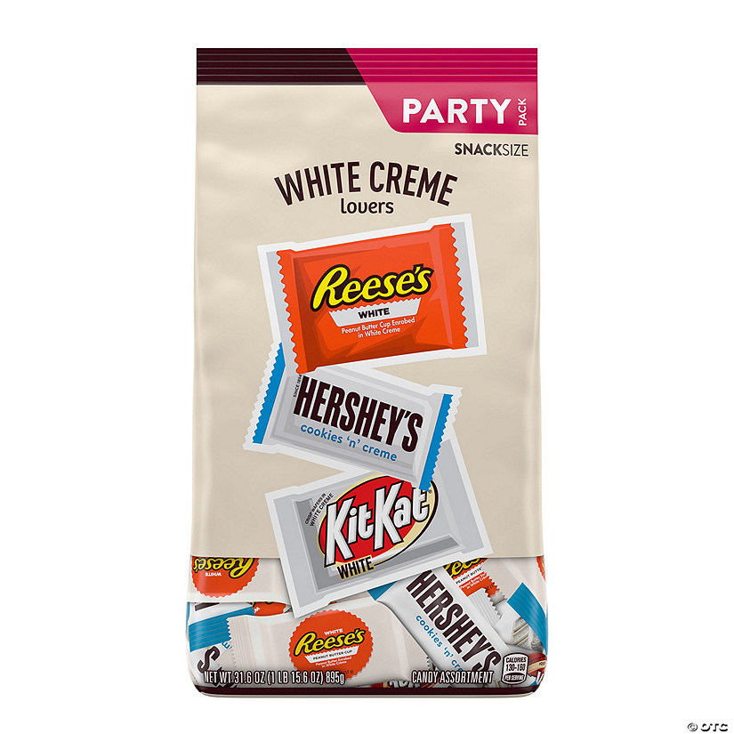 Hershey All Time Greats White Snack Size Assortment - 32.5oz bag Audio Thumbnail