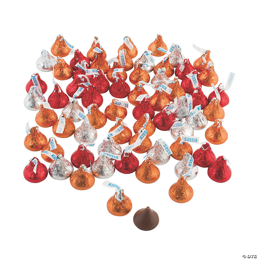 Hershey&#8217;s<sup>&#174;</sup> Kisses<sup>&#174;</sup> Fall Milk Chocolate Candy Image Thumbnail