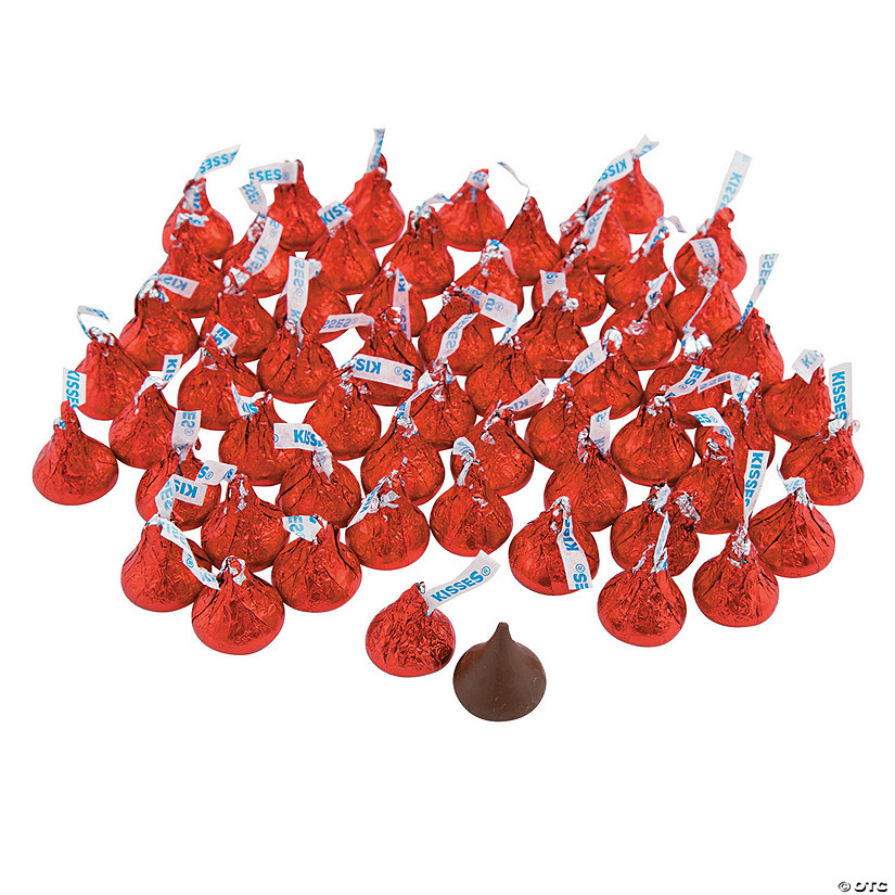 Hershey&#8217;s<sup>&#174;</sup> Kisses<sup>&#174;</sup> Red Chocolate Candy - 400 Pc. Audio Thumbnail