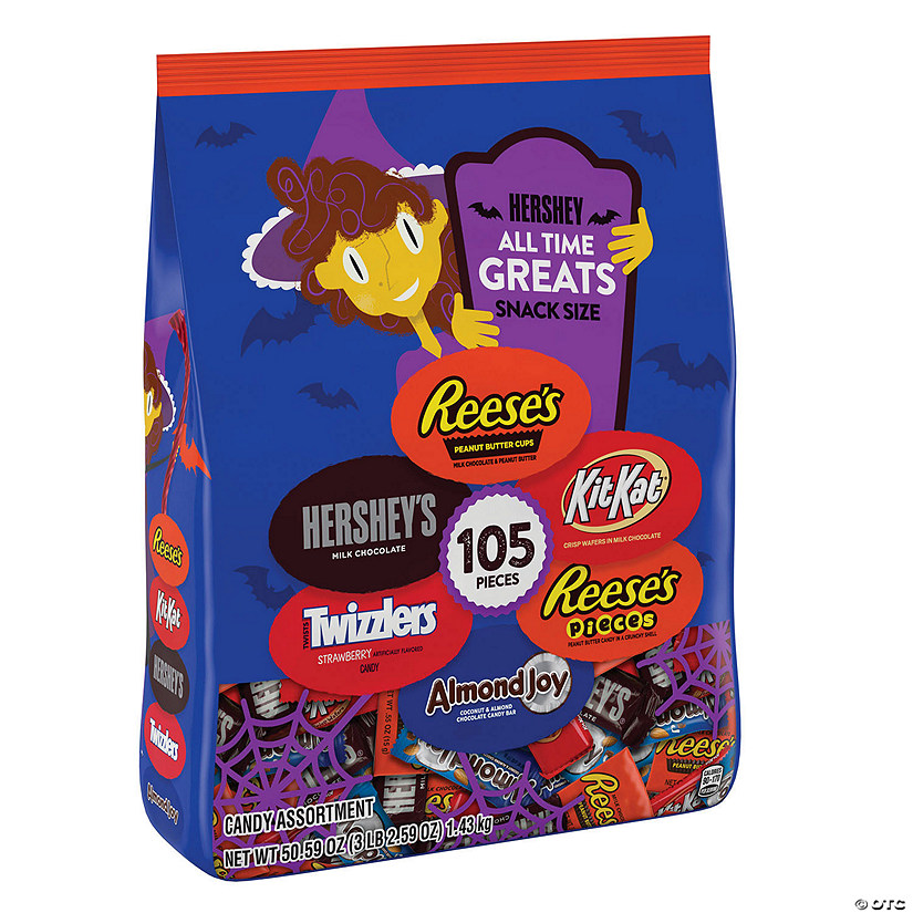 Hershey&#8217;s<sup>&#174;</sup> Snack-Size Chocolate Candy with Glow-in-the-Dark Wrappers Audio Thumbnail