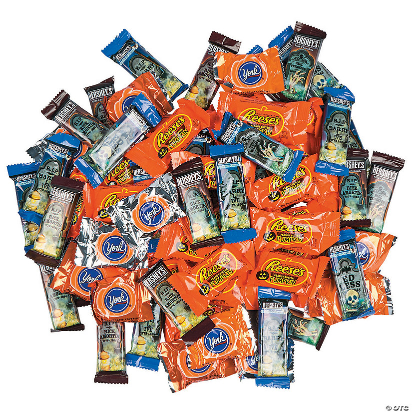 Hershey<sup>&#174;</sup> Halloween-Shaped Chocolate Candy Assortment Image Thumbnail