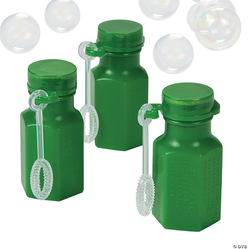 Hexagon Green Bubble Bottles Audio Thumbnail
