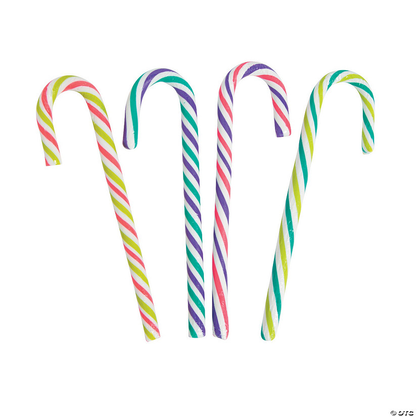 Holiday Brights Large Candy Canes
