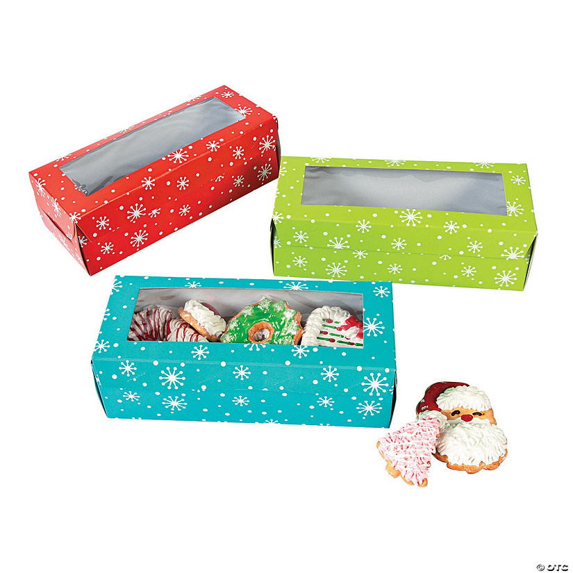 Holiday Cookie Boxes Image Thumbnail
