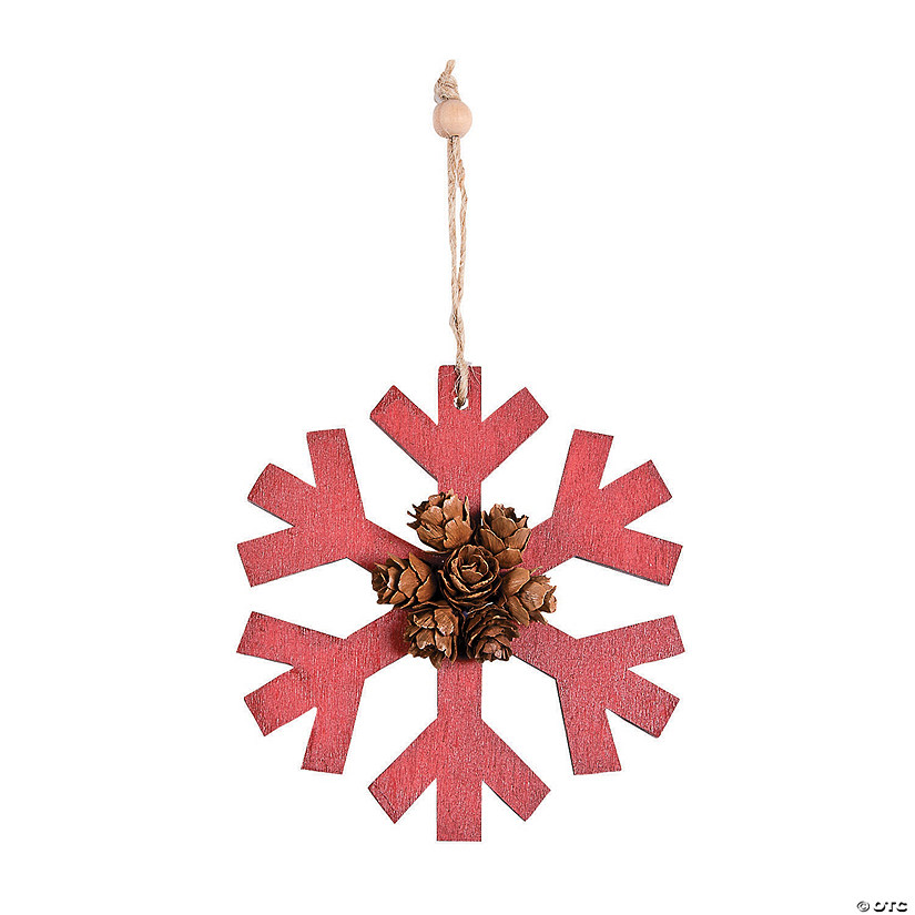Holiday Handicraft Snowflake Ornaments