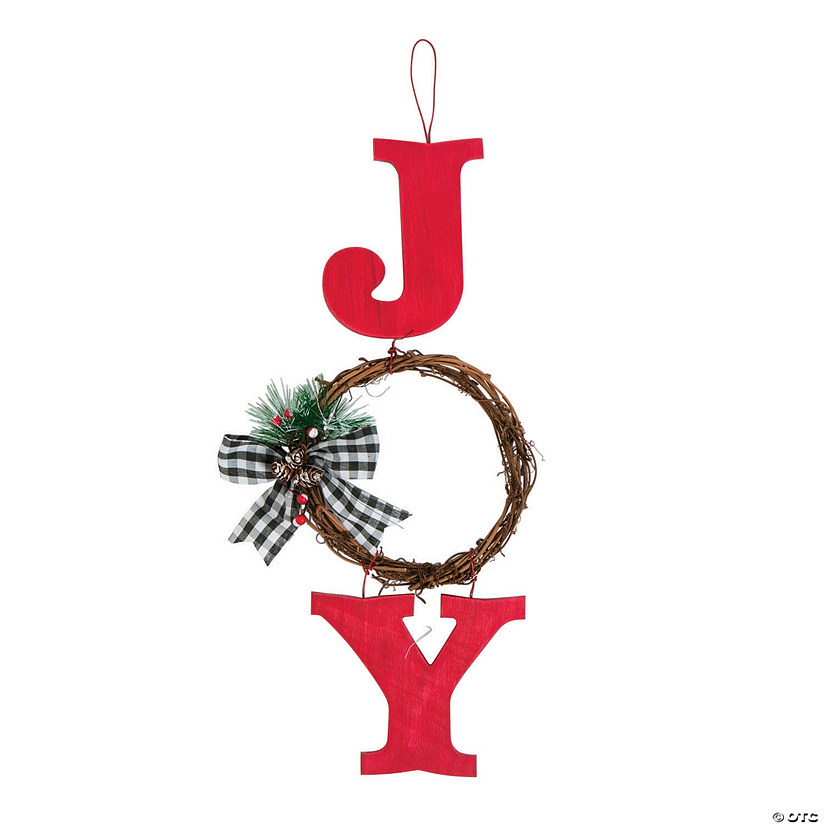 Holiday Joy Wall Hanging with Wreath Audio Thumbnail