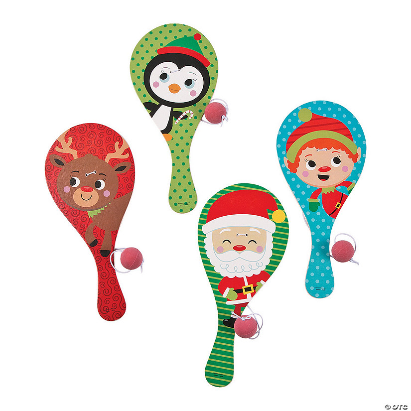 Holiday Paddle Ball Games Image Thumbnail