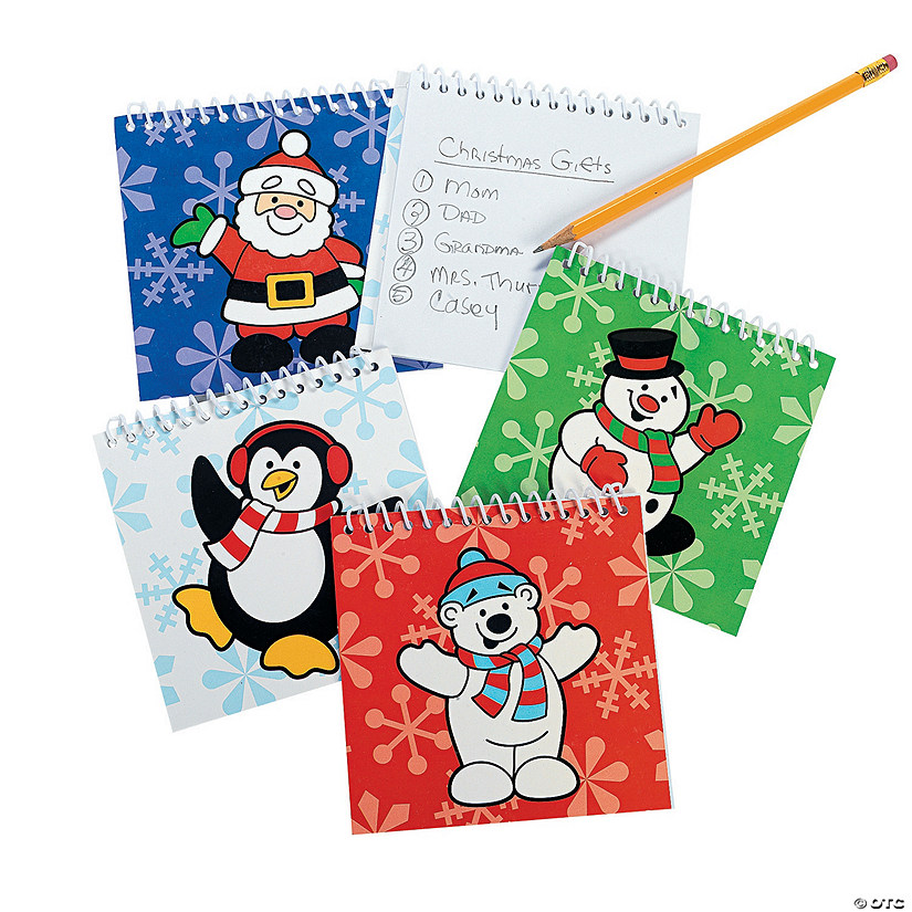 Holiday Spiral Notepads Audio Thumbnail