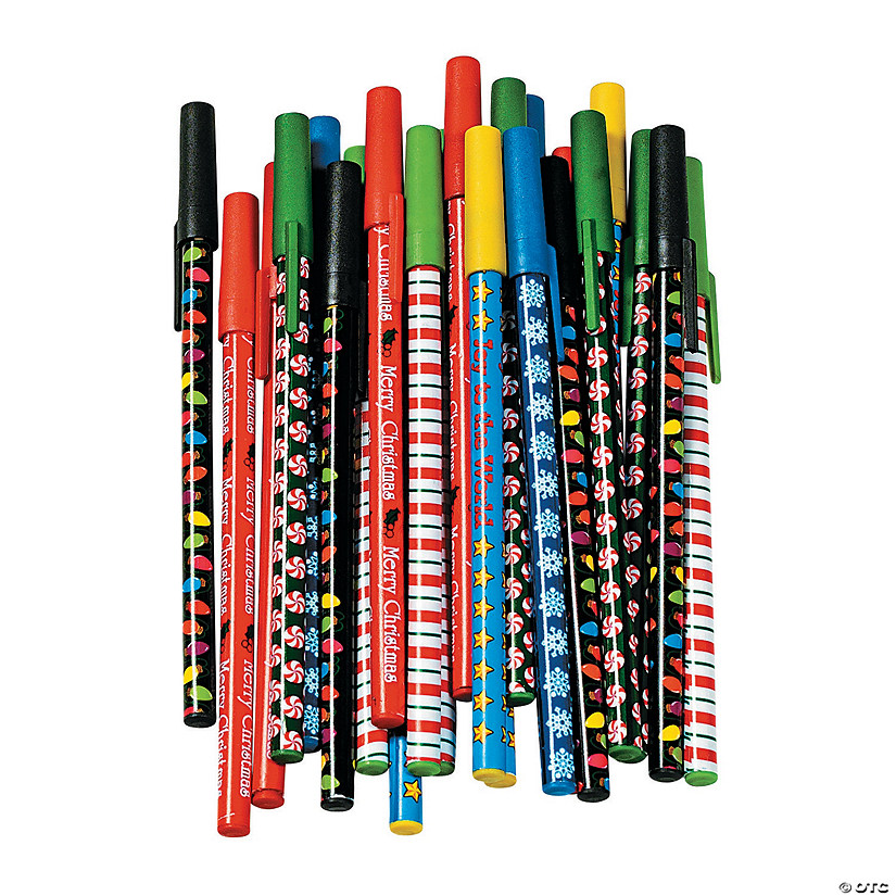 Holiday Stick Pen Assortment Audio Thumbnail
