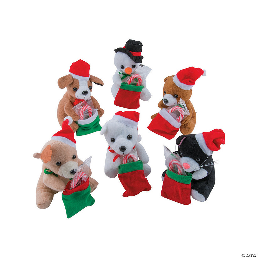 Holiday Stuffed Characters with Candy Canes Audio Thumbnail