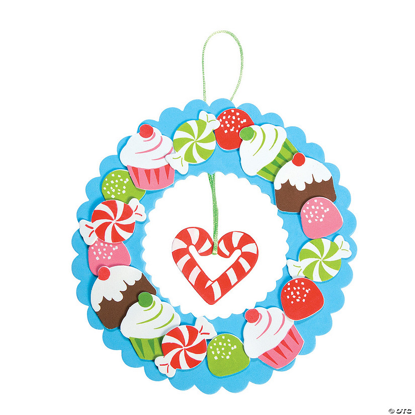 Holiday Sweet Treat Wreath Craft Kit Audio Thumbnail