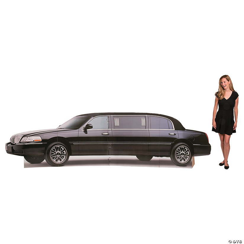 Hollywood Limo Cardboard Stand-Up