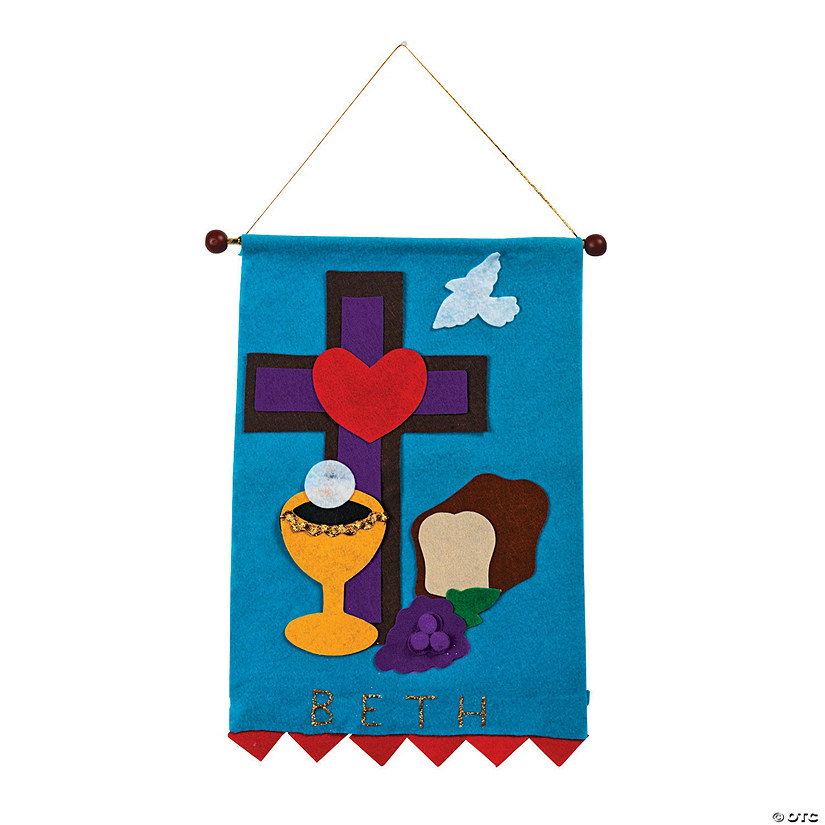 Holy Communion Banner Craft Kit Image Thumbnail
