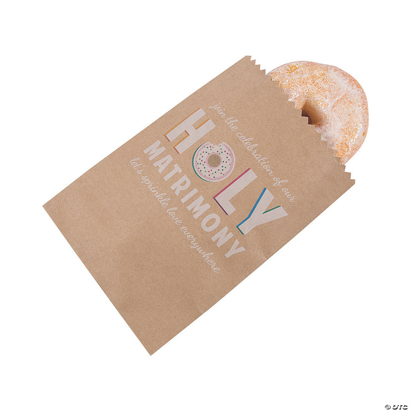 Holy Matrimony Donut Treat Bags Audio Thumbnail
