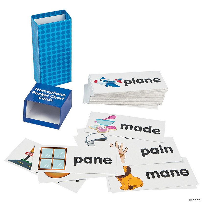 Homophone Pocket Chart Cards Audio Thumbnail
