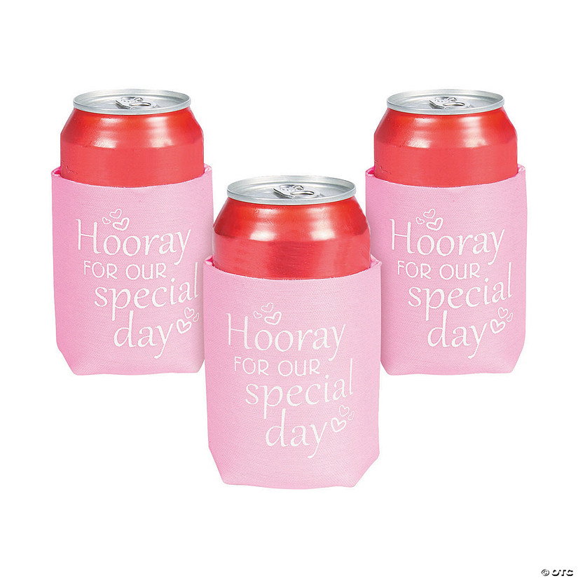 Hooray for Our Special Day Can Coolers Audio Thumbnail