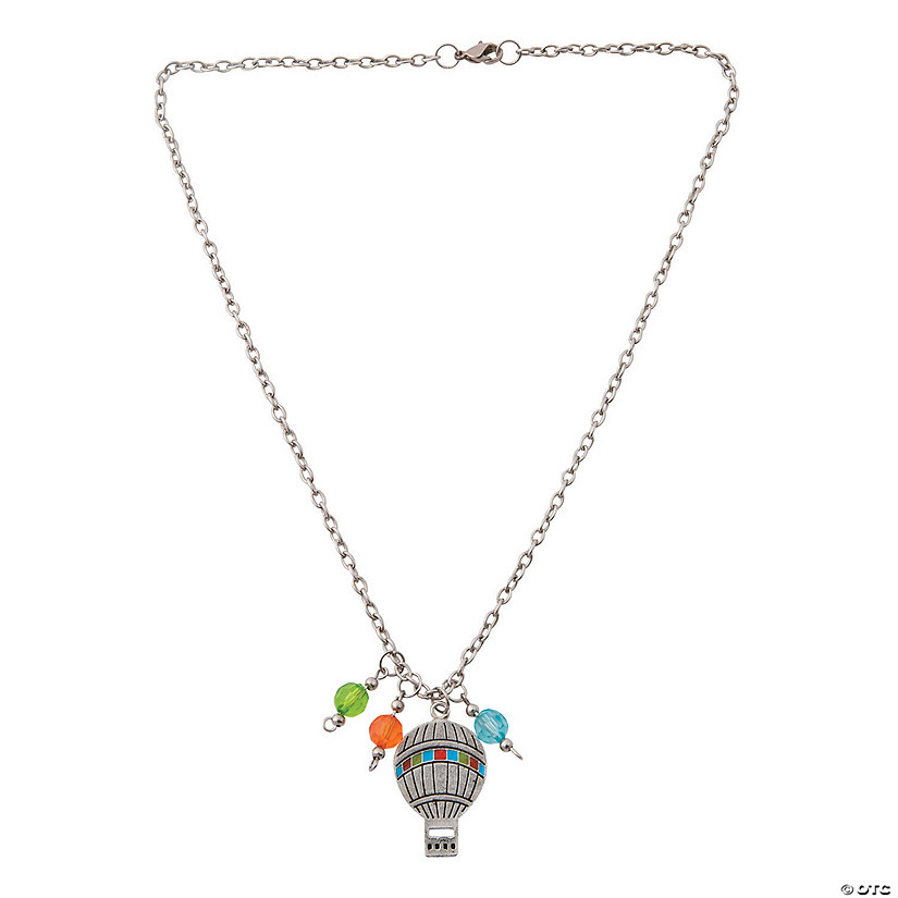 Hot Air Balloon Necklace Craft Kit