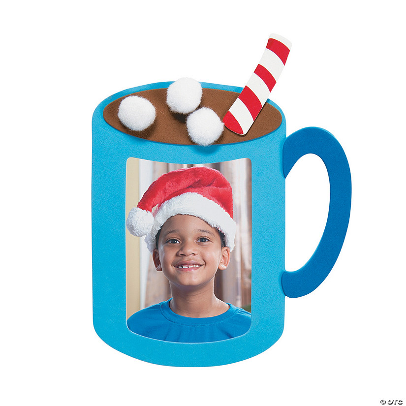 Hot Cocoa Picture Frame Magnet Craft Kit Audio Thumbnail