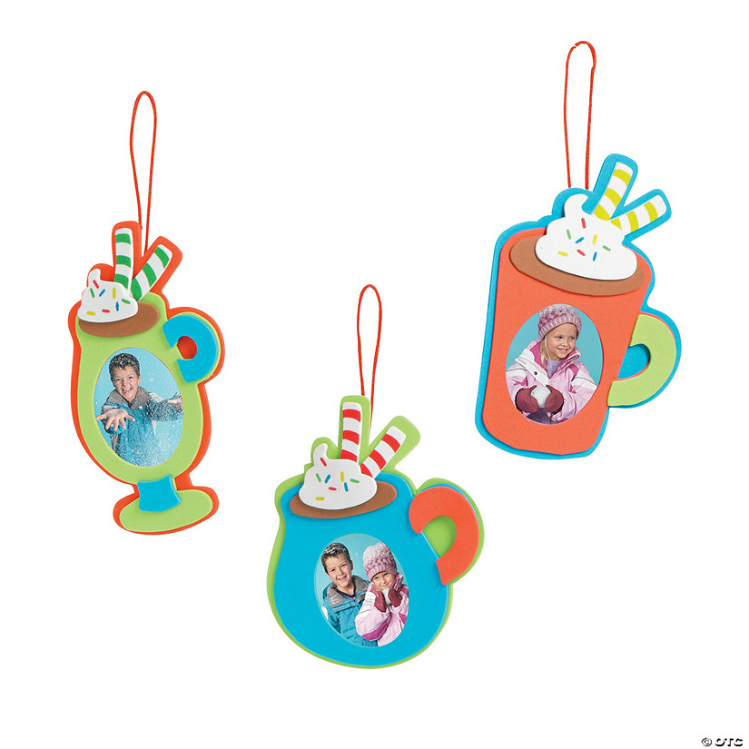 Hot Cocoa Picture Frame Ornament Craft Kit