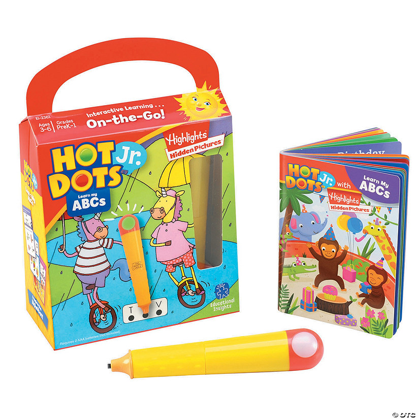 Hot Dots JR. ABC's Image Thumbnail