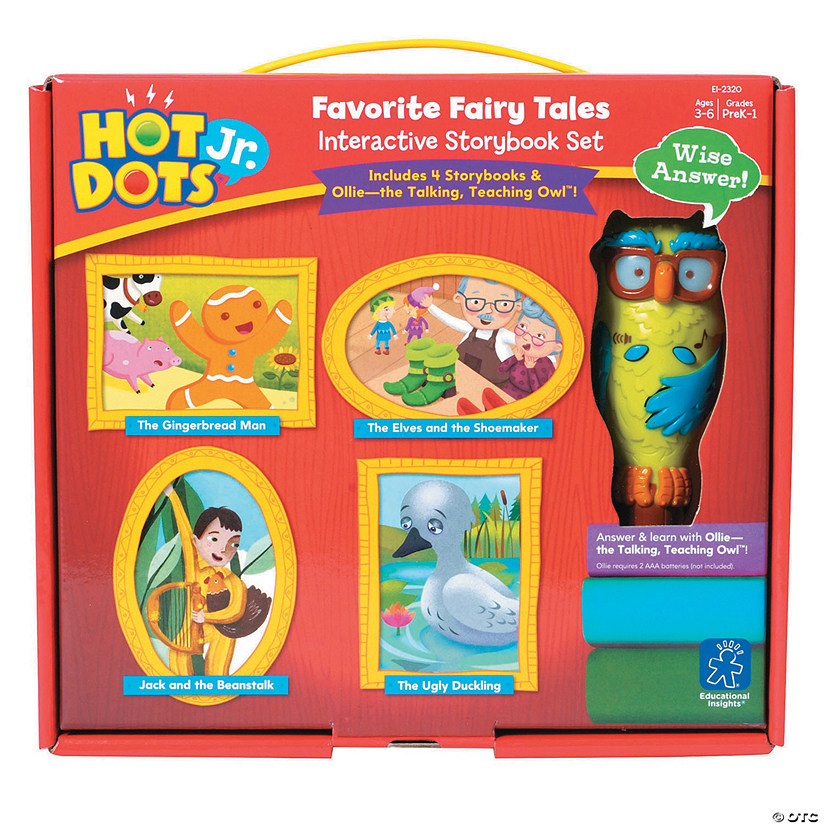 Hot Dots Jr Interactive Storybook Audio Thumbnail