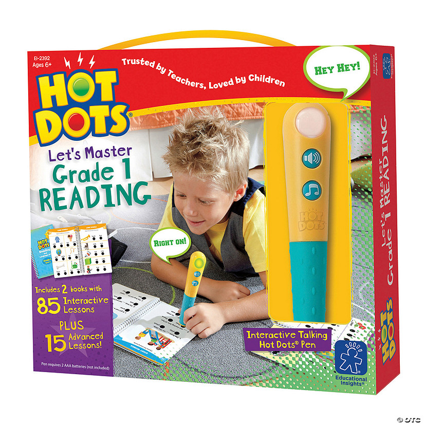 Hot Dots® Jr Let'S Master Grade 1 Reading Audio Thumbnail
