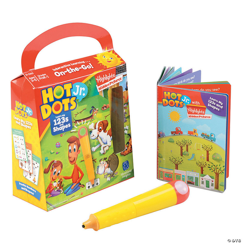 Hot Dots JR. Shapes & 123's