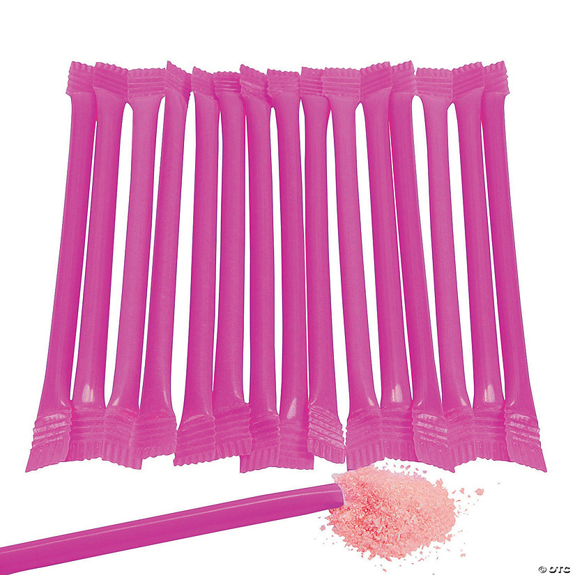 Hot Pink Candy-Filled Straws Audio Thumbnail