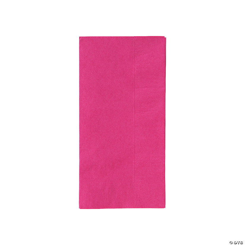 Hot Pink Dinner Napkins Audio Thumbnail