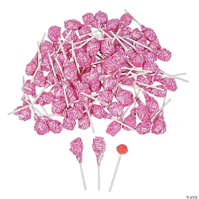 Hot Pink Dum Dums<sup>&#174; </sup>Solid Color Lollipops Audio Thumbnail