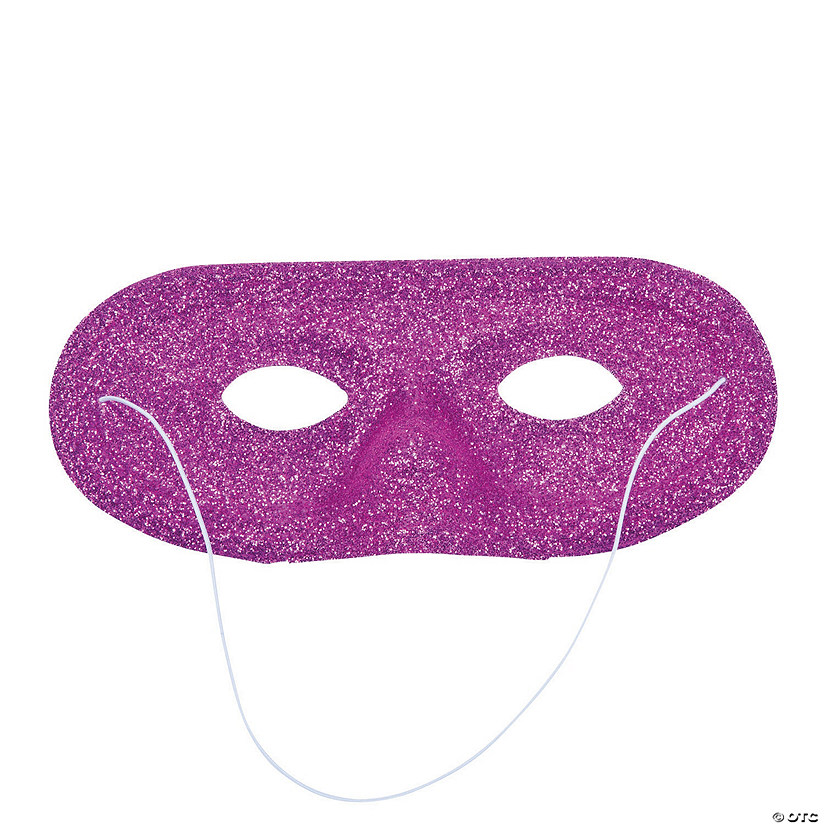 Hot Pink Glitter Masks Audio Thumbnail