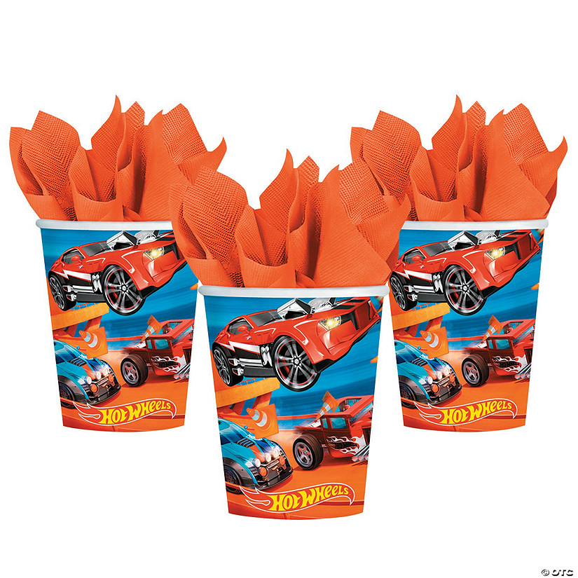 Hot Wheels<sup>&#174;</sup> Wild Racer Paper Cups Audio Thumbnail