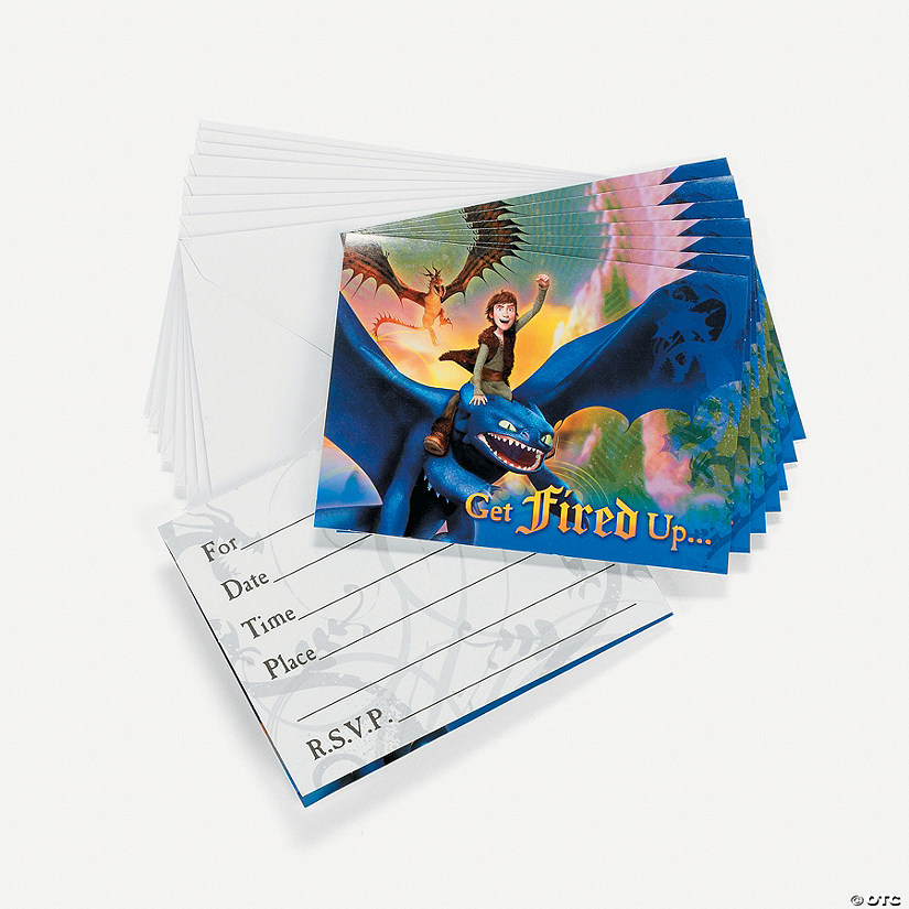 How To Train Your Dragon Invitations Discontinued