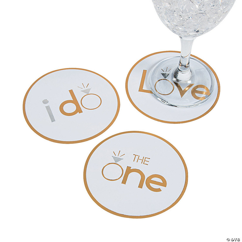 I Do/Love/The One Coasters