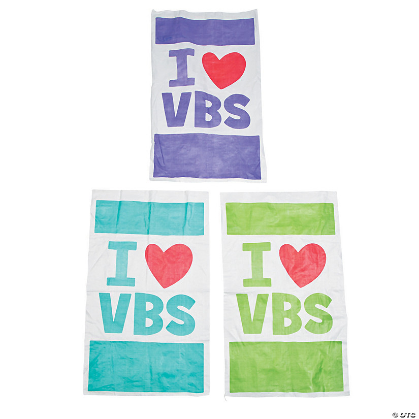 I Love VBS Potato Sack Race Bags