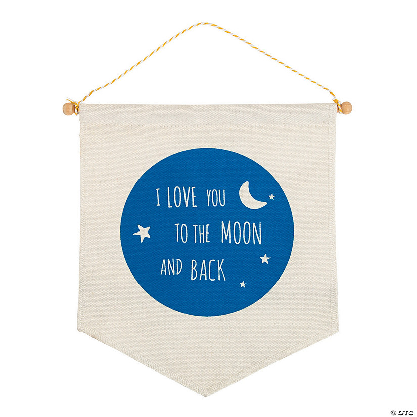 I Love You To the Moon Canvas Sign Audio Thumbnail