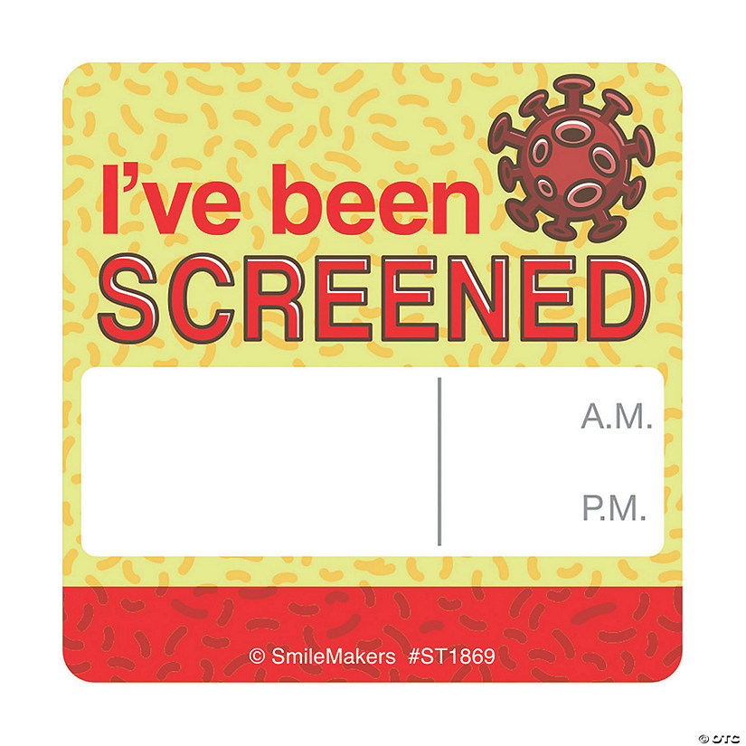 I've Been Screened Stickers Image Thumbnail