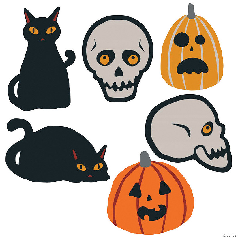It is a graphic of Selective Halloween Cutouts Printable