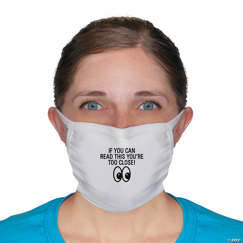 If You Can Read This Fabric Face Masks - 2 Pc. Image Thumbnail
