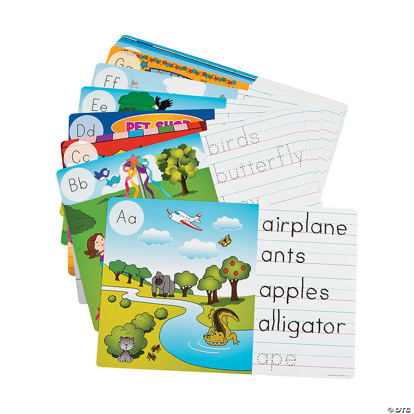 Image Hunt & Write Dry Erase Cards