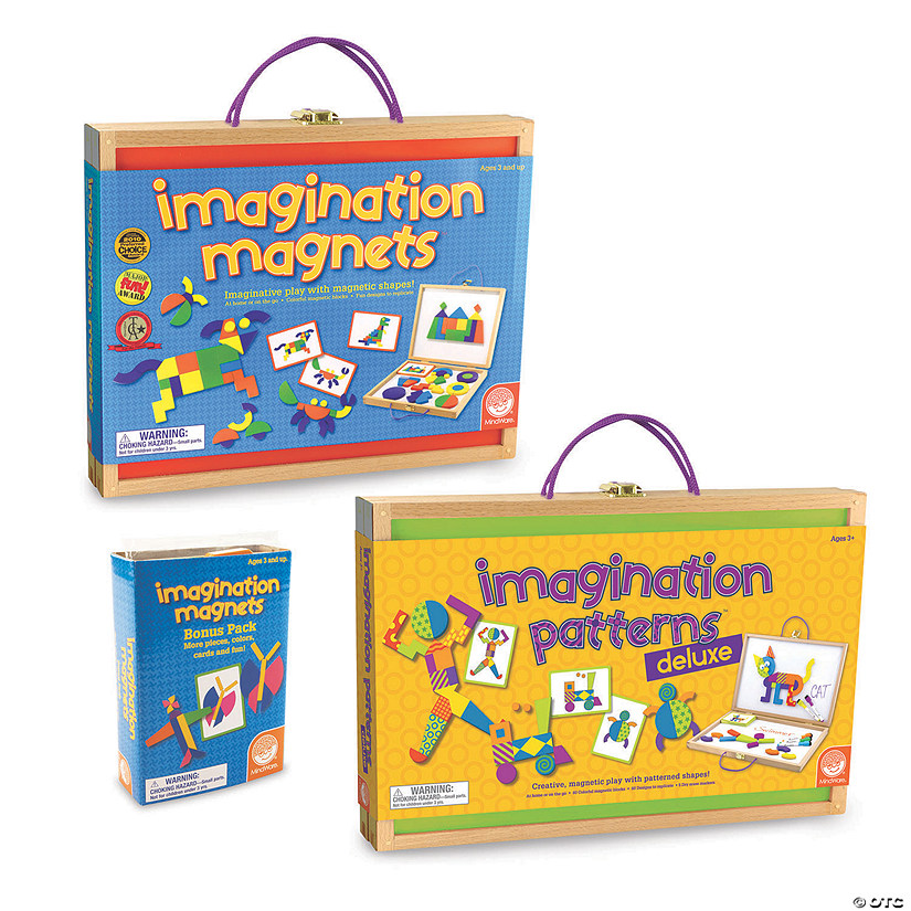 Imagination Magnets and Patterns Deluxe plus FREE Bonus Pack Audio Thumbnail