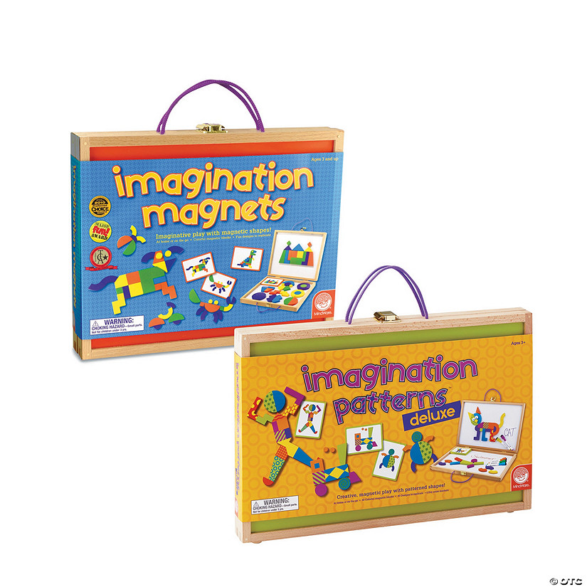 Imagination Patterns Deluxe and Imagination Magnets: Set of 2