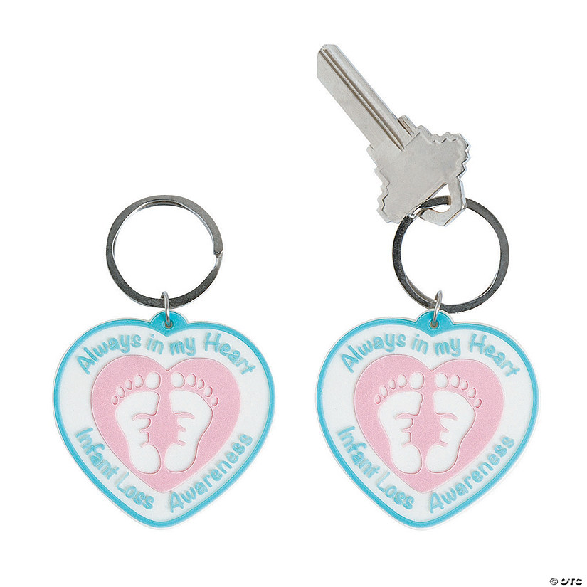 Infant Loss Awareness Keychains