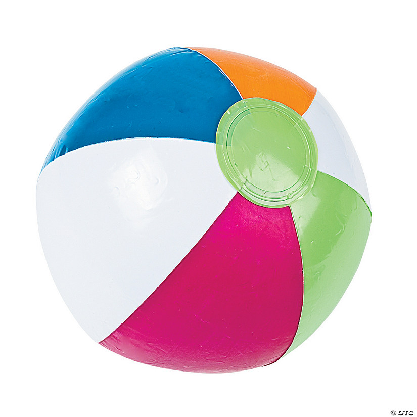 "Inflatable 10"" Bright Spring Medium Beach Balls Audio Thumbnail"