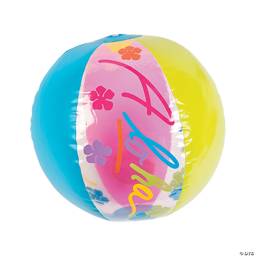 "Inflatable 11"" Aloha Medium Beach Balls Audio Thumbnail"